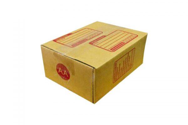 กล่องไปรษณีย์สีน้ำตาลฝาชน เบอร์ AA